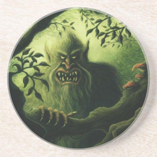 troll country fantasy coasters