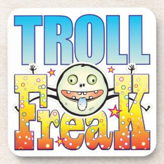 Troll Freaky Freak Beverage Coasters
