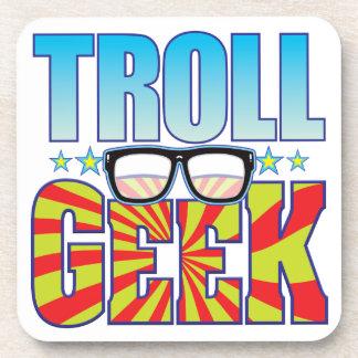 Troll Geek v4 Beverage Coasters