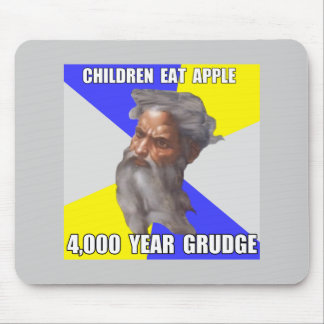 Troll God Grudge Mouse Pad