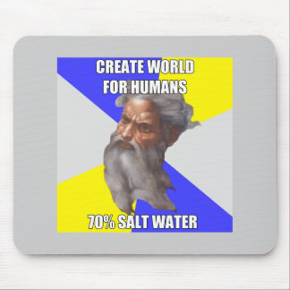 Troll God Saltwater Mouse Pad
