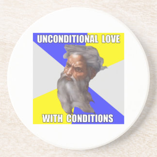 Troll God Unconditional Love Coasters