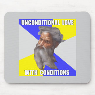 Troll God Unconditional Love Mouse Pad