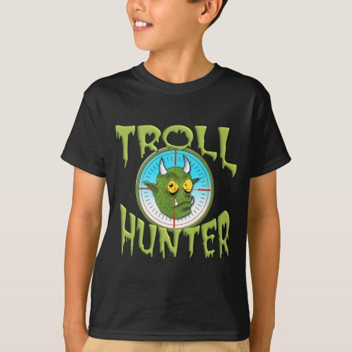 TROLL HUNTER TEE SHIRT