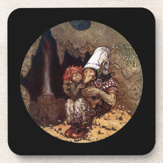 Troll Mother and Child by Campfire Coasters