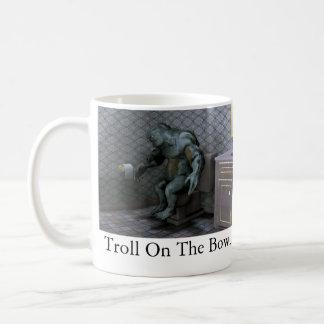 Troll On The Bowl Coffee Mug