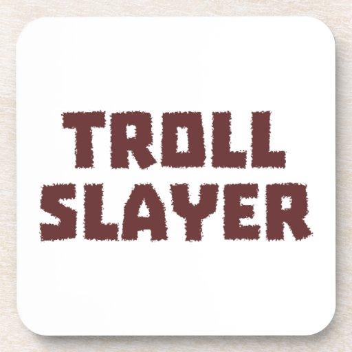 Troll Slayer Drink Coasters