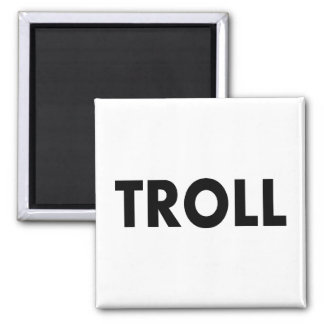 Troll Square Magnet