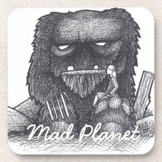 Troll Stump Drawing Coaster