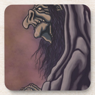 troll witch drink coaster
