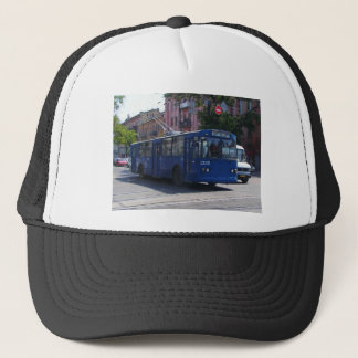 Trolley Bus Trucker Hat