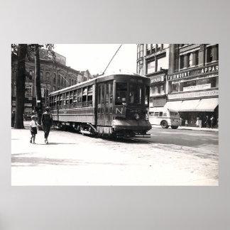 Trolley in Wilkes-Barre Poster