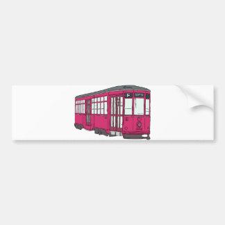 Trolley Trolleybus Streetcar Tram Trolleycar Cars Bumper Stickers