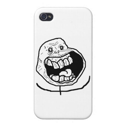 TrollFace iPhone Box iPhone 4 Case