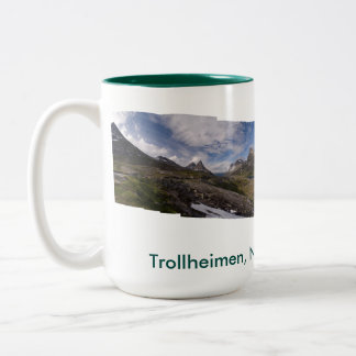 Trollheimen, Norway Two-Tone Coffee Mug