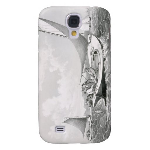 Trolling for Blue Fish Samsung Galaxy S4 Cover