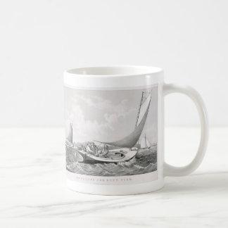 Trolling for Blue Fish Basic White Mug