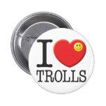 Trolls 6 Cm Round Badge