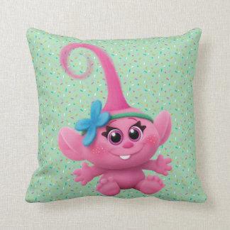 Trolls | Baby Poppy Throw Pillow