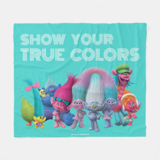 Trolls | Best Troll Friends Fleece Blanket