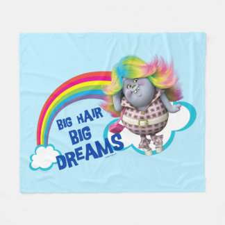 Trolls | Big Hair, Big Dreams Fleece Blanket