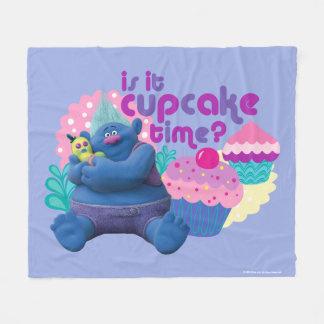 Trolls | Biggie - Is it Cupcake Time? Fleece Blanket