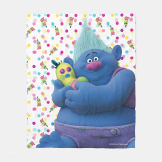 Trolls | Biggie & Mr. Dinkles Fleece Blanket