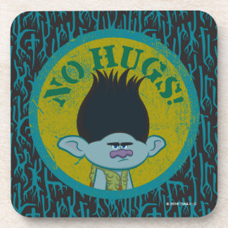 Trolls | Branch - No Hugs! Coaster