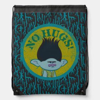 Trolls | Branch - No Hugs! Drawstring Bag