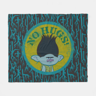 Trolls | Branch - No Hugs! Fleece Blanket