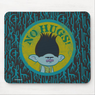 Trolls | Branch - No Hugs! Mouse Mat