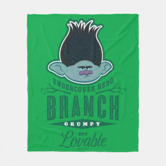Trolls | Branch - Undercover Hero Fleece Blanket