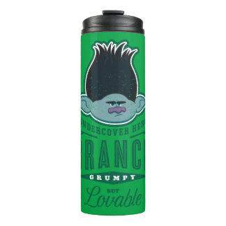 Trolls | Branch - Undercover Hero Thermal Tumbler