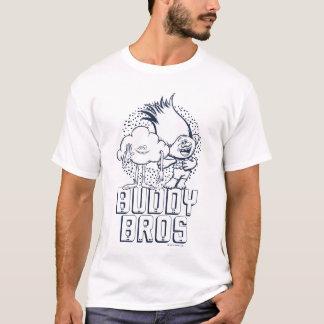 Trolls   Cloud Guy & Branch - Buddy Bros T-Shirt