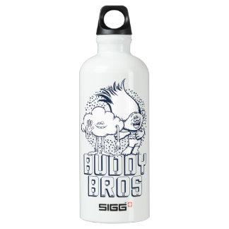 Trolls | Cloud Guy & Branch - Buddy Bros Water Bottle