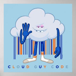 Trolls| Cloud Guy Code Poster