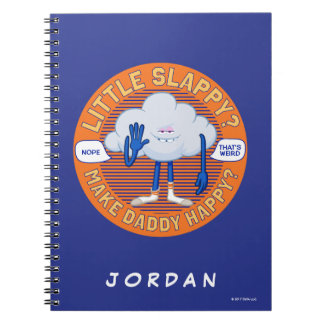 Trolls | Cloud Guy High Five Spiral Notebook