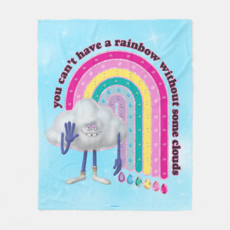 Trolls | Cloud Guy Rainbow Fleece Blanket