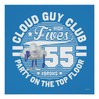 Trolls | Cloud Guy Salute Poster