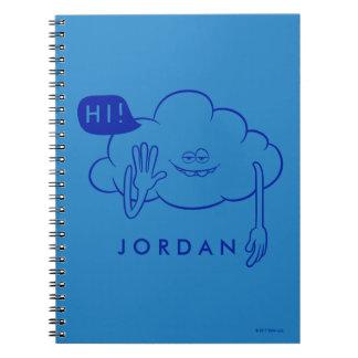 Trolls | Cloud Guy Smiling Notebooks