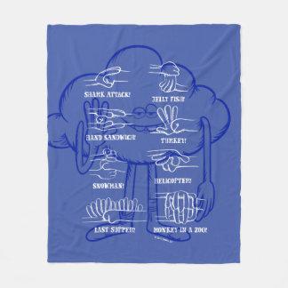 Trolls | Cloud Guy Waving Fleece Blanket