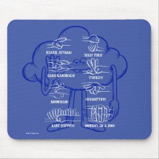 Trolls | Cloud Guy Waving Mouse Mat