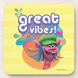 Trolls | Cooper - Great Vibes! Coaster