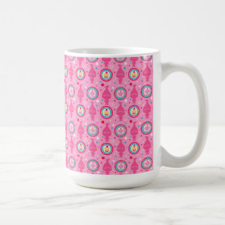 Trolls | Cupcakes & Rainbows Pattern Coffee Mug
