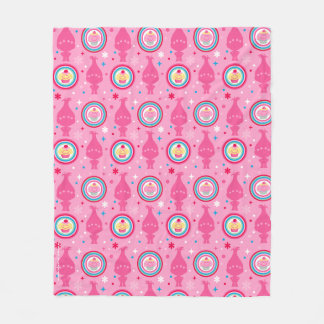 Trolls | Cupcakes & Rainbows Pattern Fleece Blanket
