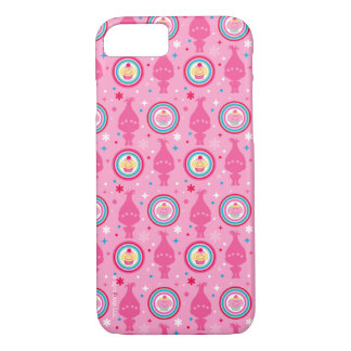 Trolls | Cupcakes & Rainbows Pattern iPhone 8/7 Case