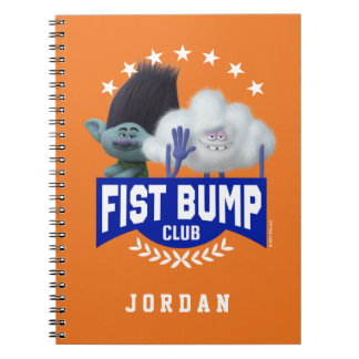 Trolls | Fist Bump Notebook