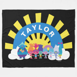 Trolls | Forever Shine Fleece Blanket