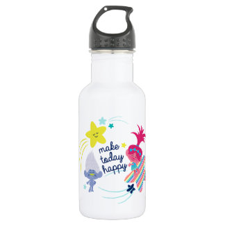 Trolls | Glitteriffic Fun 532 Ml Water Bottle