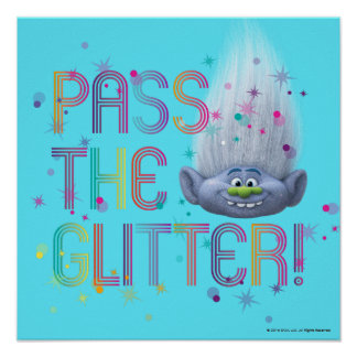 Trolls | Guy Diamond - Pass the Glitter 2 Poster